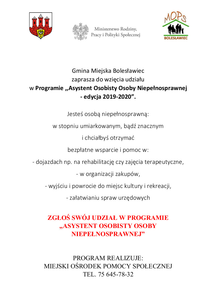 PROGRAM ASYSTENT PLAKAT 2